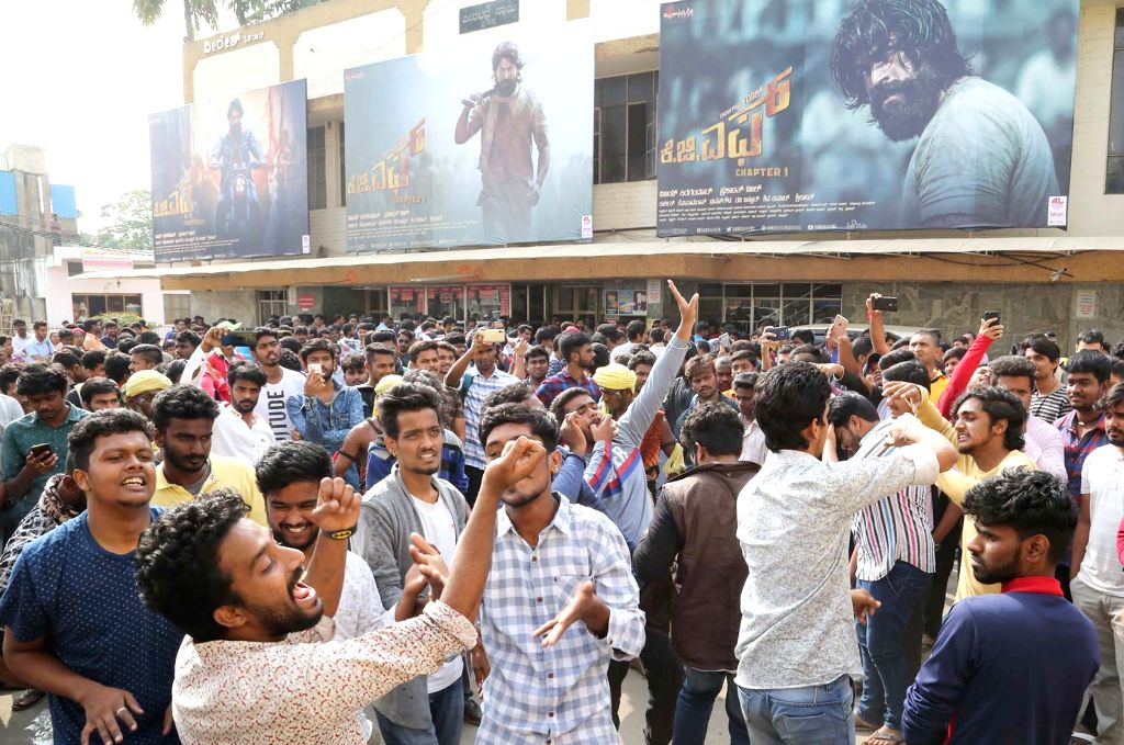 fans-of-actor-yash-outside-a-cinema-theater-764325